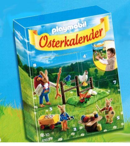 Easter calender Playmobil 4169 Osterkalender Playmobil Pinterest - playmobil badezimmer 4285