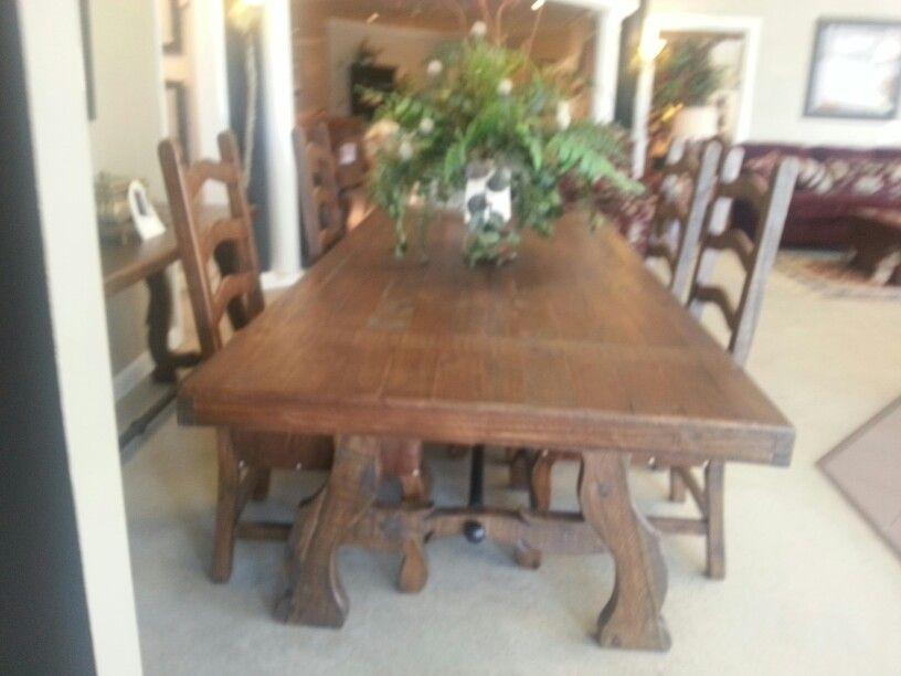 Farmhouse table MY Tuscan Style Pinterest Tuscan style