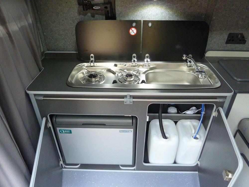 Vw T5 Camper Van Fridge Pod Removable Camper Furniture Suv