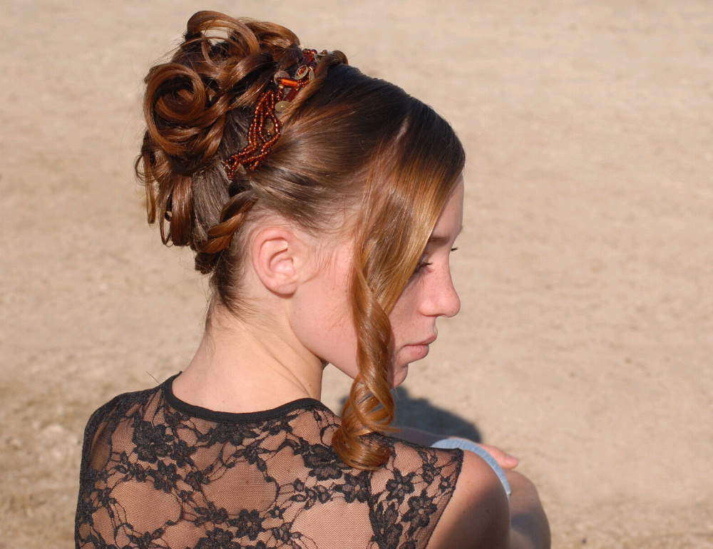 chignon | frisur ideen | tolle frisuren lange haare