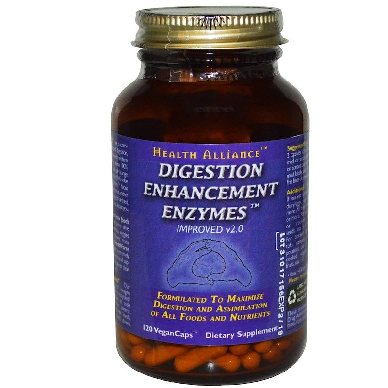 HealthForce Superfoods, Digestion Enhancement Enzymes, 120