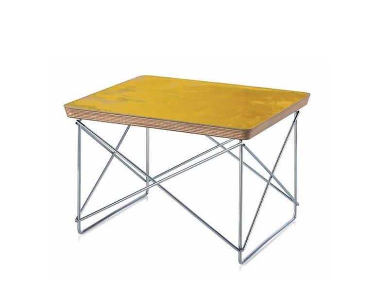 Table basse rectangulaire OCCASIONAL TABLE LTR by Vitra | design Charles & Ray Eames