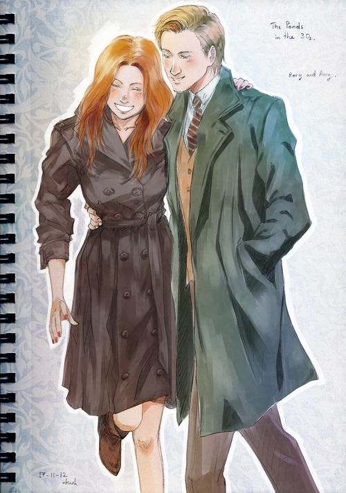 Amy and Rory in 1930's New York #1