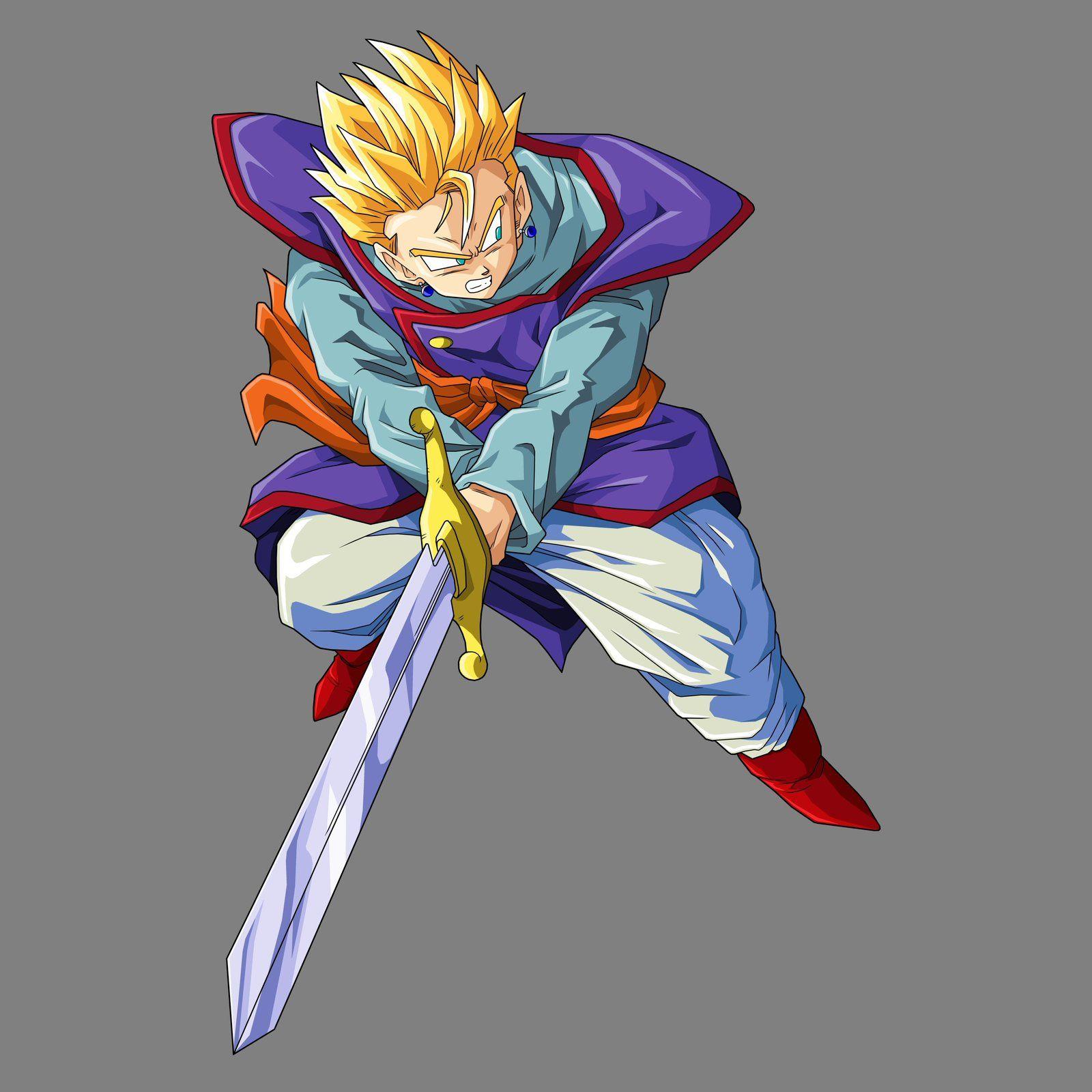 Gohan SSj with Sword by drozdoo on DeviantArt