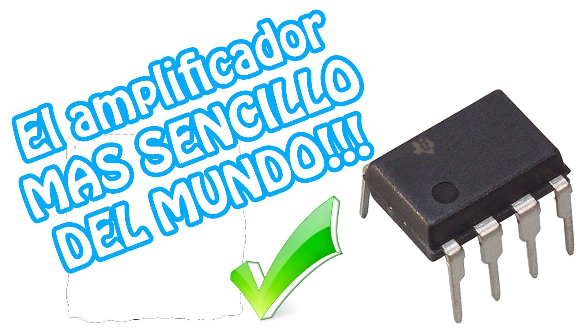 Como hacer el amplificador de audio MAS SENCILLO DEL MUNDO ...