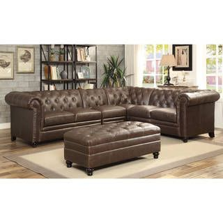 Overstock Com Online Shopping Bedding Furniture Electronics Jewelry Clothing More Tufted Sectional Sofa Leather Sectional Sofas Tufted Sectional