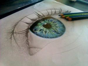 color pencil art amazing eye work in progress by mariart91 on