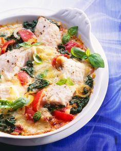 Fisch-Gemüsegratin #recipesforshrimp