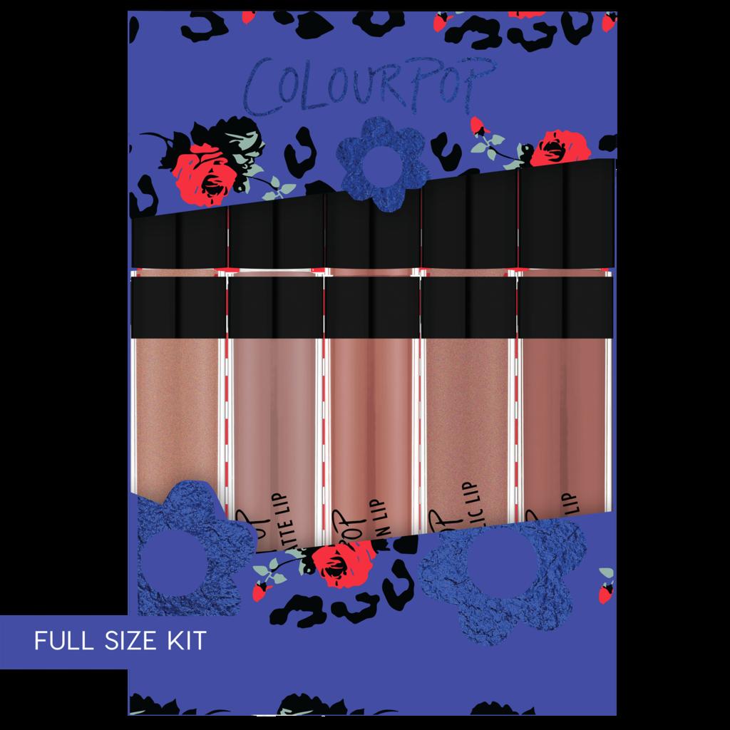 For Fox Sake giftryapp Colourpop cosmetics, Lip kit