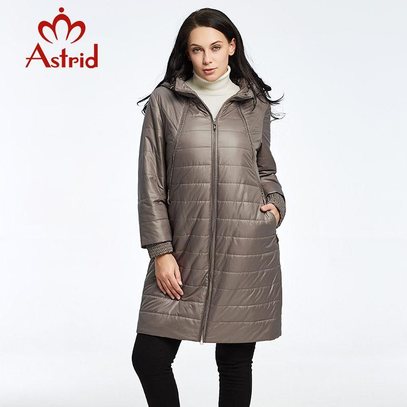 2018 Астрид Для женщин осень-зима куртка высокого качества Модные теплые и  удобные для отдыха женские брендовые парки AM-2303 c482cc13b1506