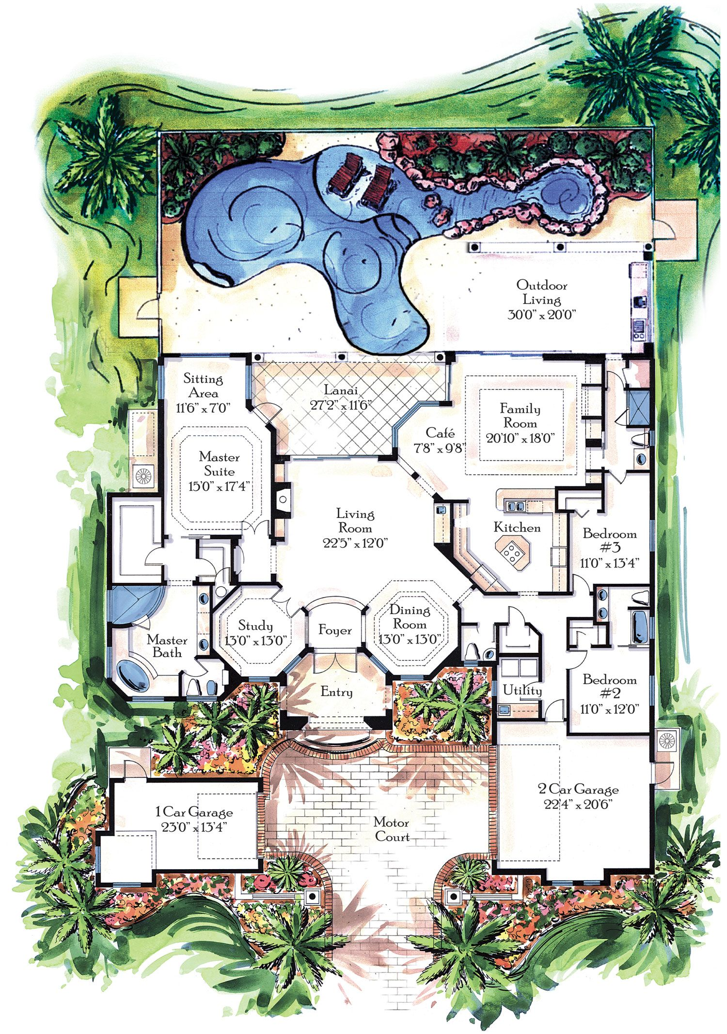 Ultra luxury house plans t lovely luxury house floor plans for Homeplan designs