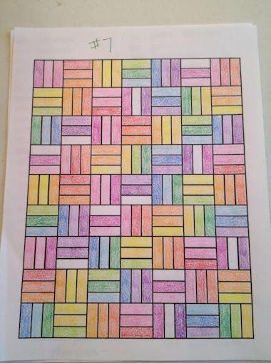 So Many Rainbows Really Like This One Dibujos En Cuadricula