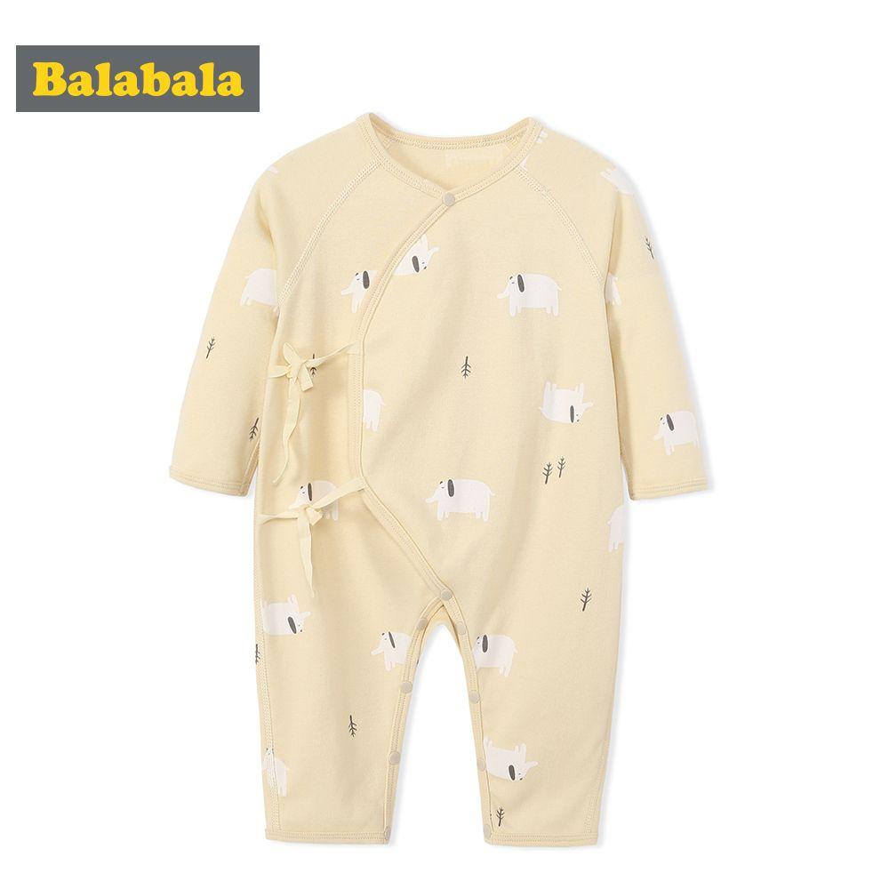 b051357d2548 Balabala newbron 2018 spring autumn long sleeve baby rompers baby ...