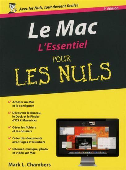 Mac L Essentiel Pour Les Nuls Le 3e Ed Par Chambers Mark L Pdf Books Ebook Reading