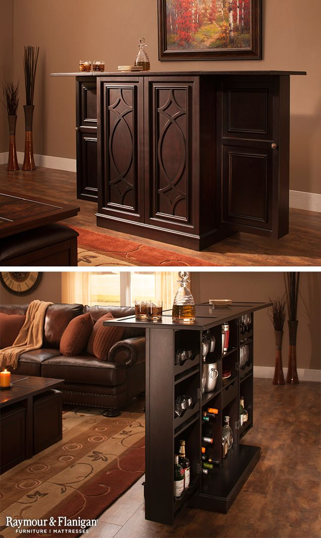 If A Traditional Bar Just Doesnu0027t Fit With Your Room Design, Try The