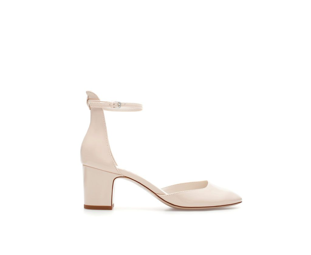 SHOE WITH BLOCK AND ANKLE STRAP - Shoes - Woman - New collection | ZARA United Kingdom