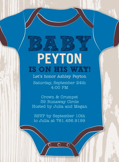 Baby Boy Onesie Invite Onesie Baby Shower Invitations Baby Shower Onesie Onesie Baby Shower Invitations Boys