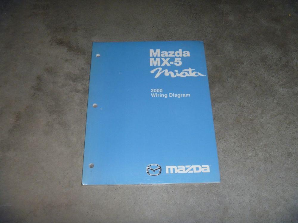 2000 mazda mx 5 miata convertible electrical wiring diagram manual Cadillac Srx Wiring Diagram 2000 mazda mx 5 miata convertible electrical wiring diagram manual new