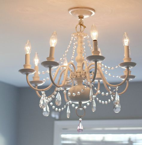 Diy Crystal Chandelier Projects To Try Pinterest - Chandelier crystals diy