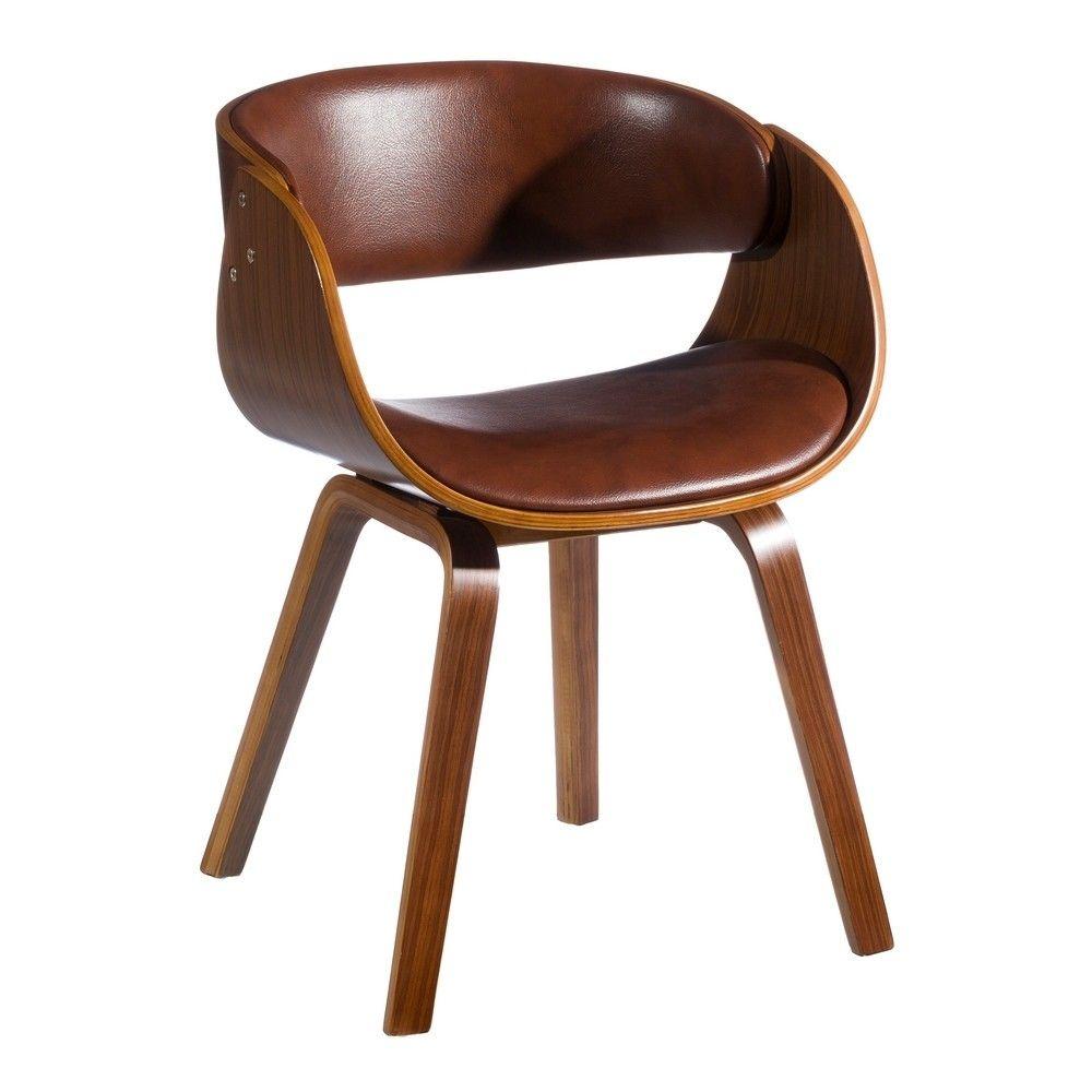 Chaise Design Bois Et Simili Cuir Chaise Design Simili Cuir Chaise