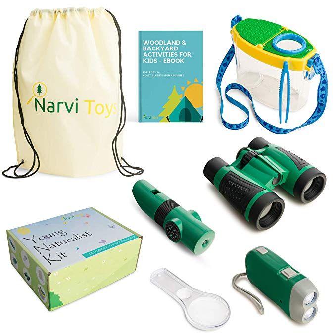 amazon com narvi toys outdoor explorer kit bug catcher
