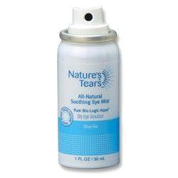 Eye Mist Eye Spray Bio Logic Aqua Technologies Nature S Tears Natural Eyes Tears In Eyes Dry Eyes