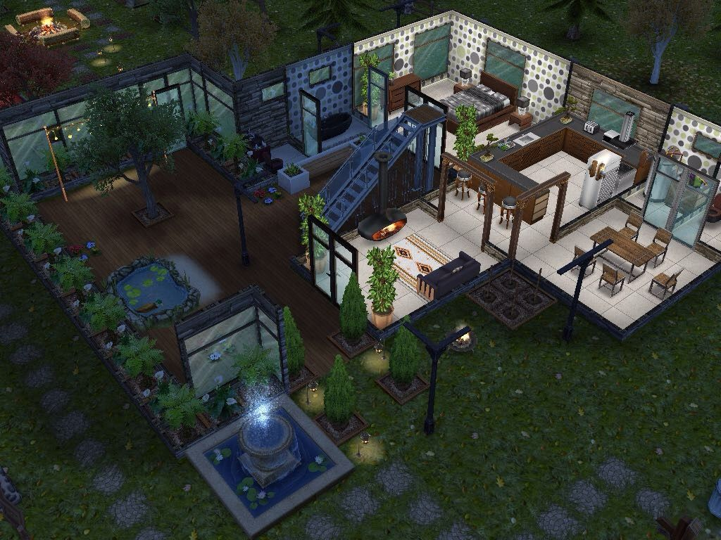 House 78 ground level #sims #simsfreeplay #simshousedesign