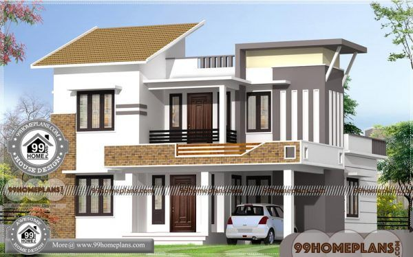 Home Plan 3d Front Elevation Design 57 New Low Cost House Design Small House Exteriors House Designs Exterior House Steps Design