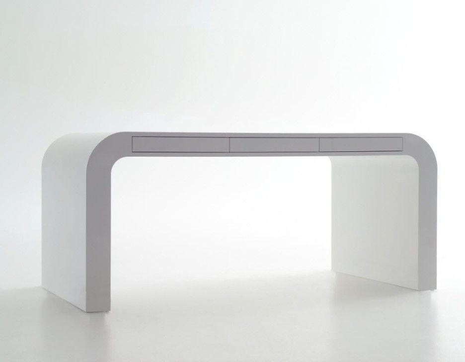 Stylish Minimalist Computer Desk Signalement White Desk