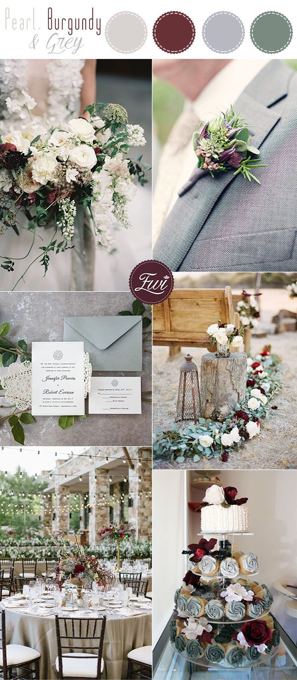 Wedding decorations garden december 2018  Stunning Neutral Flower Bouquets inspired Wedding Color Palette