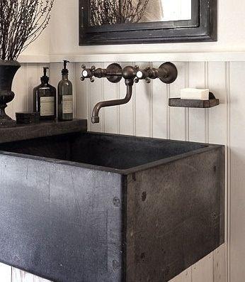 Lovely Home Decor: Rustic + Vintage + Industrial. Laundry Room SinkWashroomLaundry  ...