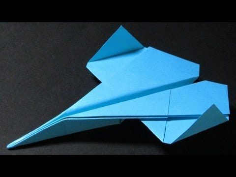 How to make a Paper Airplane that Flies Far - Easy Origami for Beginners | Bygone - YouTube