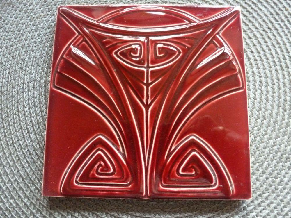 Jugendstil Fliese Jugendstilfliese Kachel Art Nouveau Tile Tegel - Wessel keramik fliesen