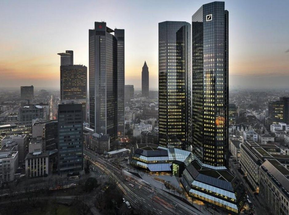 The New Deutsche Bank Towers in Frankfurt / Mario Bellini