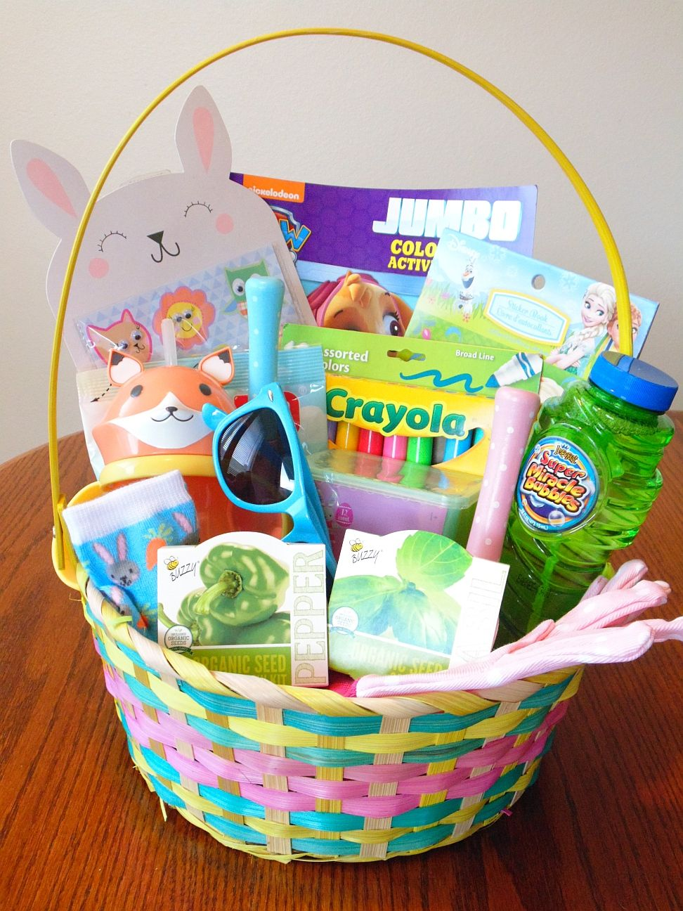 101 easter basket ideas for babies and toddlers that arent candy 101 easter basket ideas for babies and toddlers that arent candy negle Choice Image