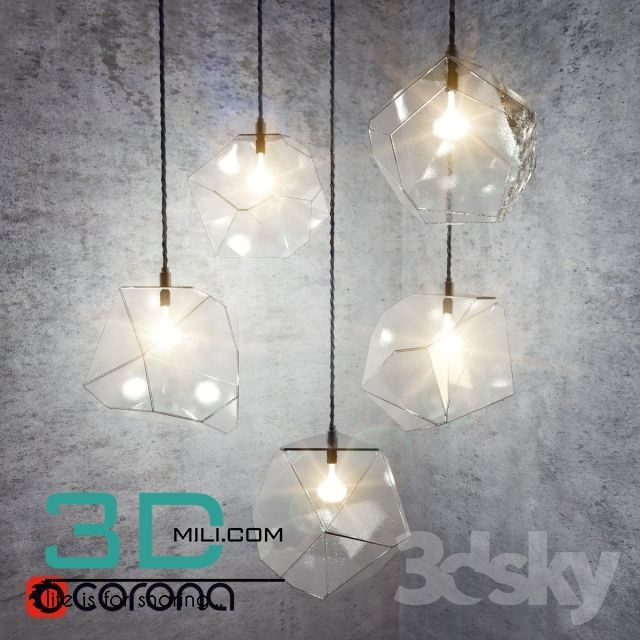 237. Ceiling light 237 3D Models Free Download | 3D objects ...