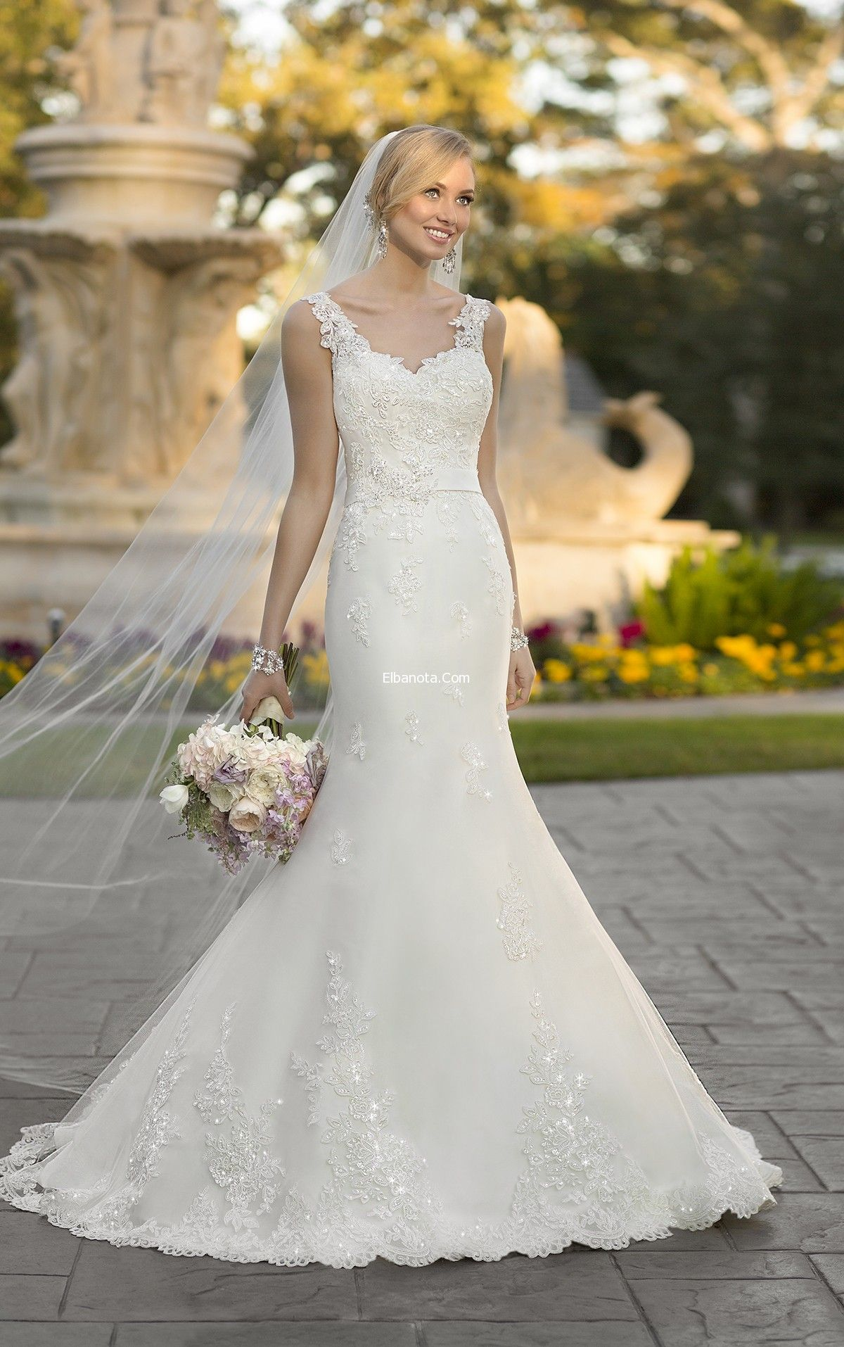 فساتين زفاف دانتيل 2015 مجموعة فساتين زفاف 2015 اثواب الزفاف دانتيل 2015 فساتين زفاف أزياء ب York Wedding Dress Stella York Wedding Dress Wedding Dresses