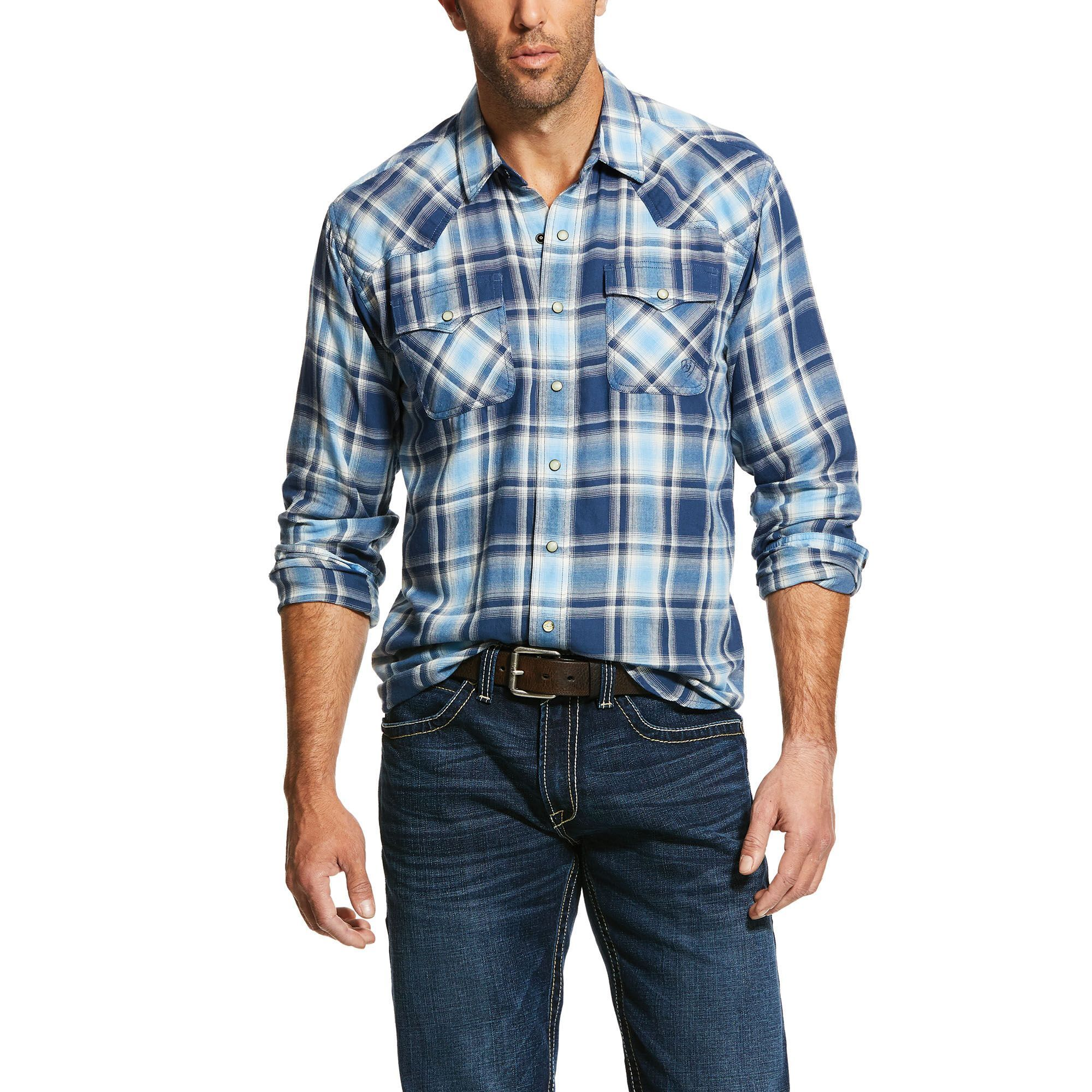 Mens Jupiter Retro Fit Shirt Cotton X-Small by Ariat - Fitness Shirts - Ideas of Fitness Shirts #fit...
