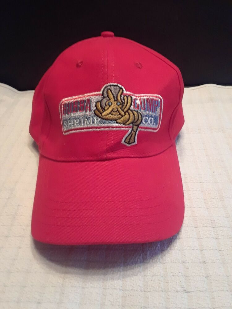 Bubba Gump Shrimp Hat Forrest Gump Embroidered Snapback Baseball Cap Men Women