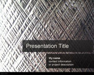 Download Free Silverish Powerpoint Template Is A Free Metal