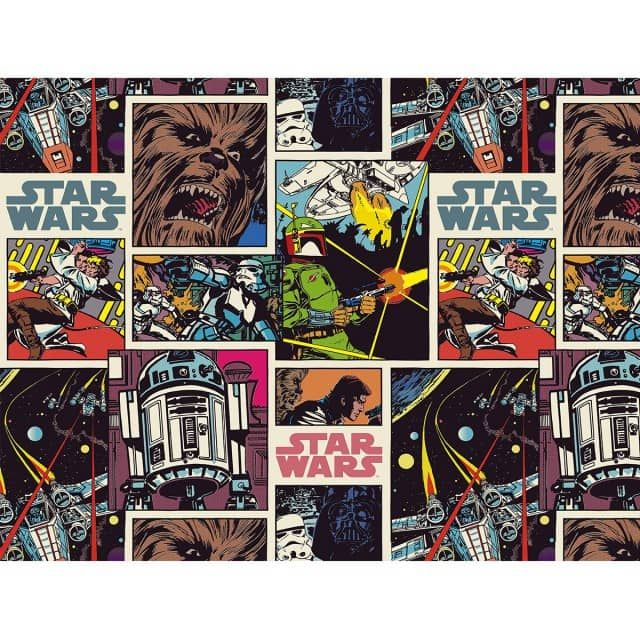 Star Wars Comic Book Collage Wallet