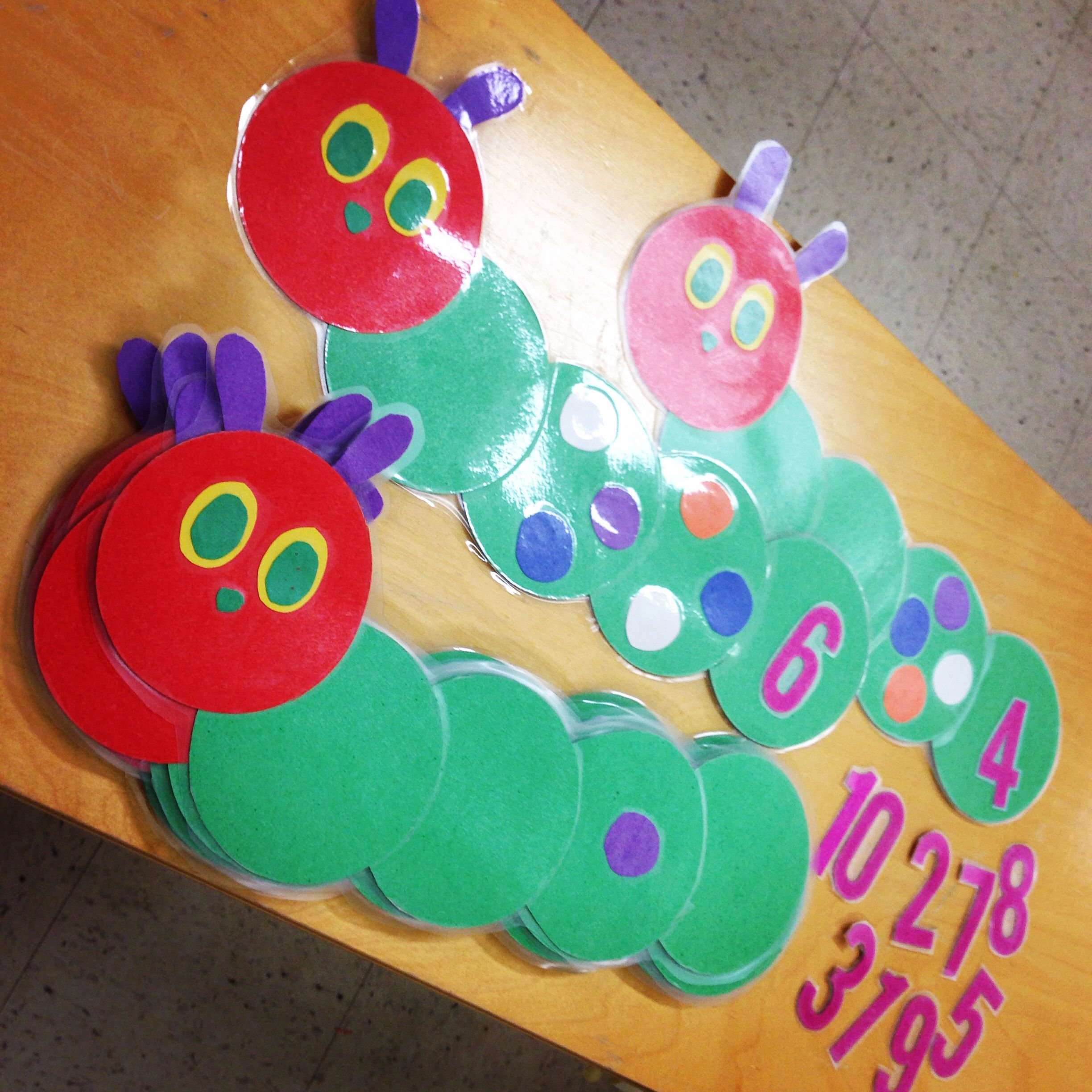 A Very Hungry Caterpillar Math Game Count The Dots And