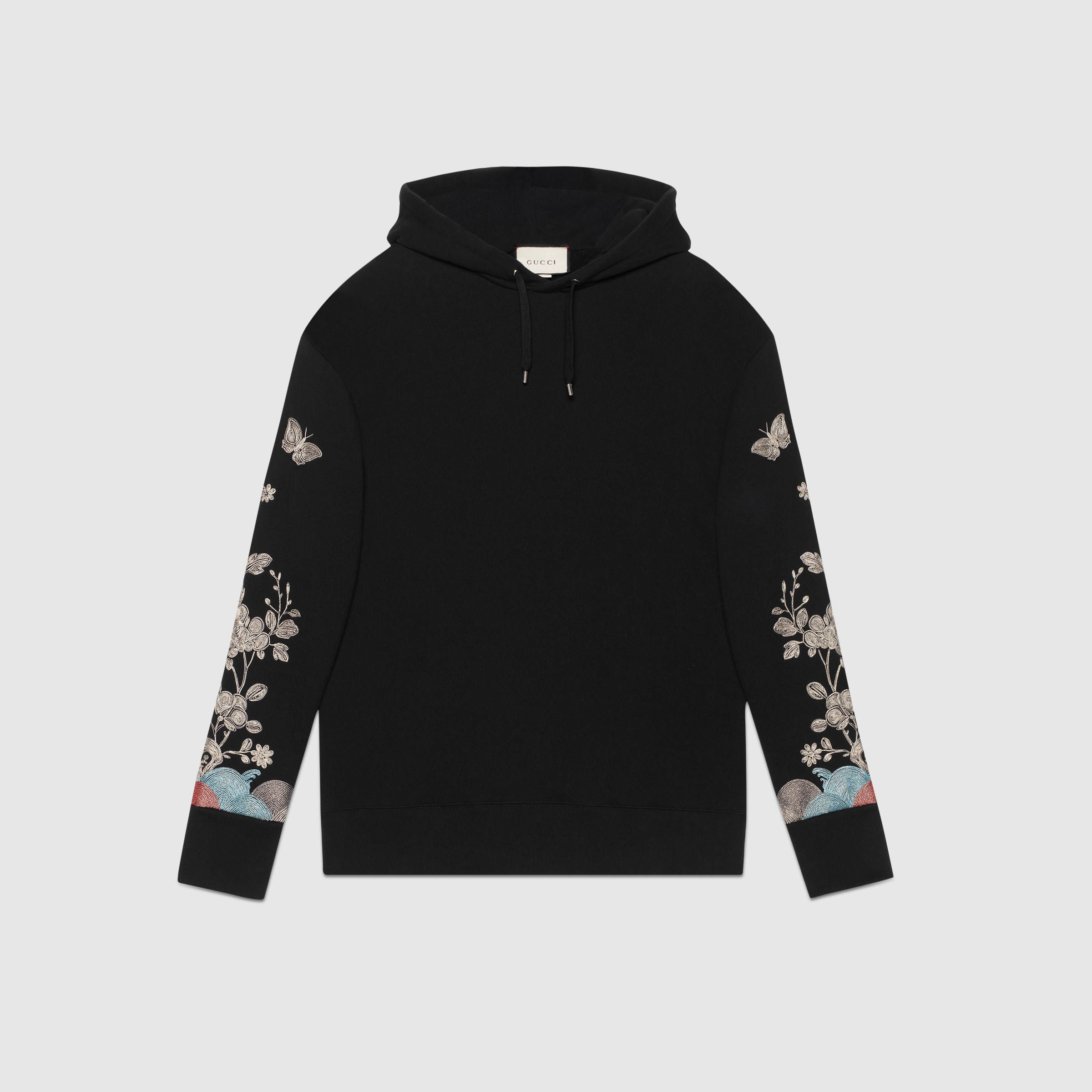 Gucci Sweatshirt With Metallic Embroidery