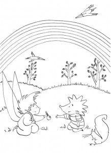 Verjaardag Kleurplaat Van Een Smurf Kleurplaat Lieve Juf Kids N Fun De 40 Ausmalbilder Von
