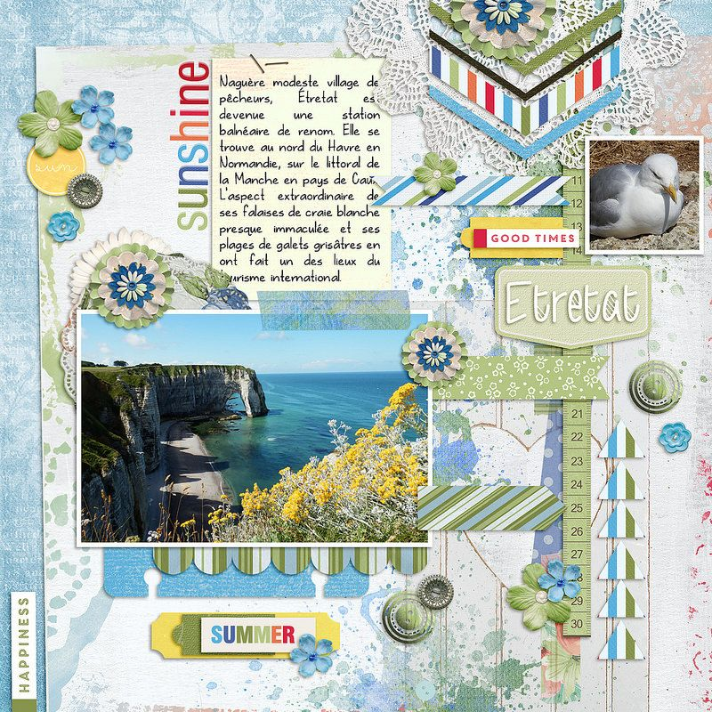 Normandie #digital #scrapbooking #layouts, layouts, digital, scrapbooking, ideas, layout, Scrapbook