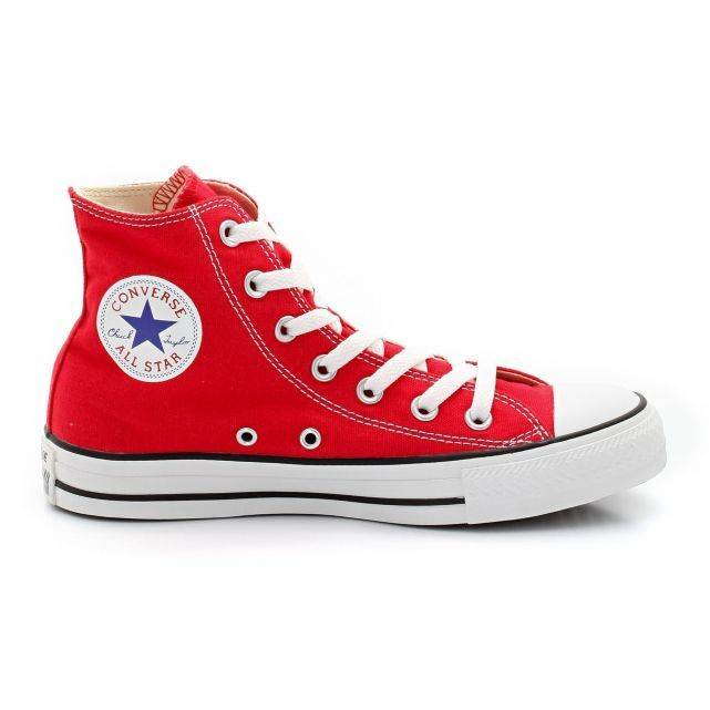 chaussure homme montante converse rouge