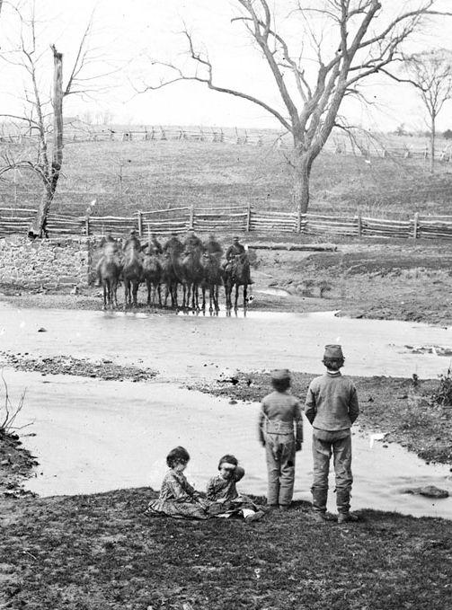 New Civil War Photo: Thornton House by Sudley Ford Bull Run 6 Sizes Manassas