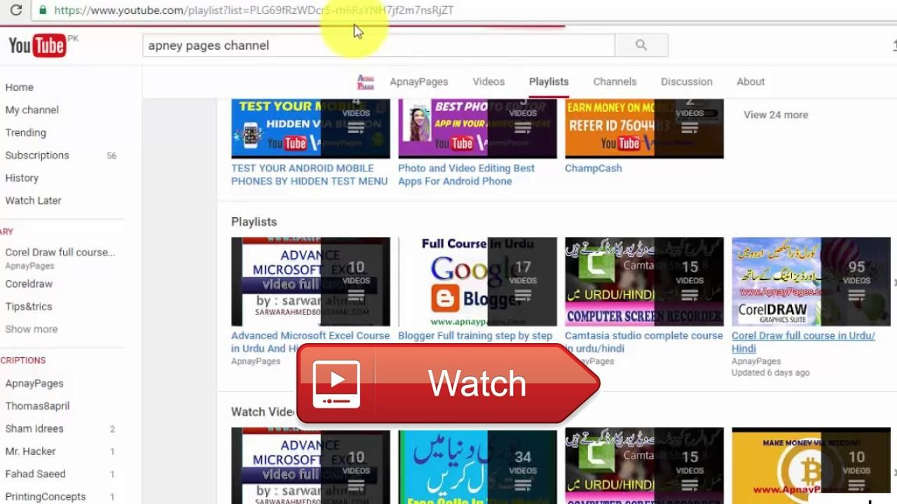 How to download entire youtube playlists or channels in one click how to download entire youtube playlists or channels in one click download how to download all ccuart Images