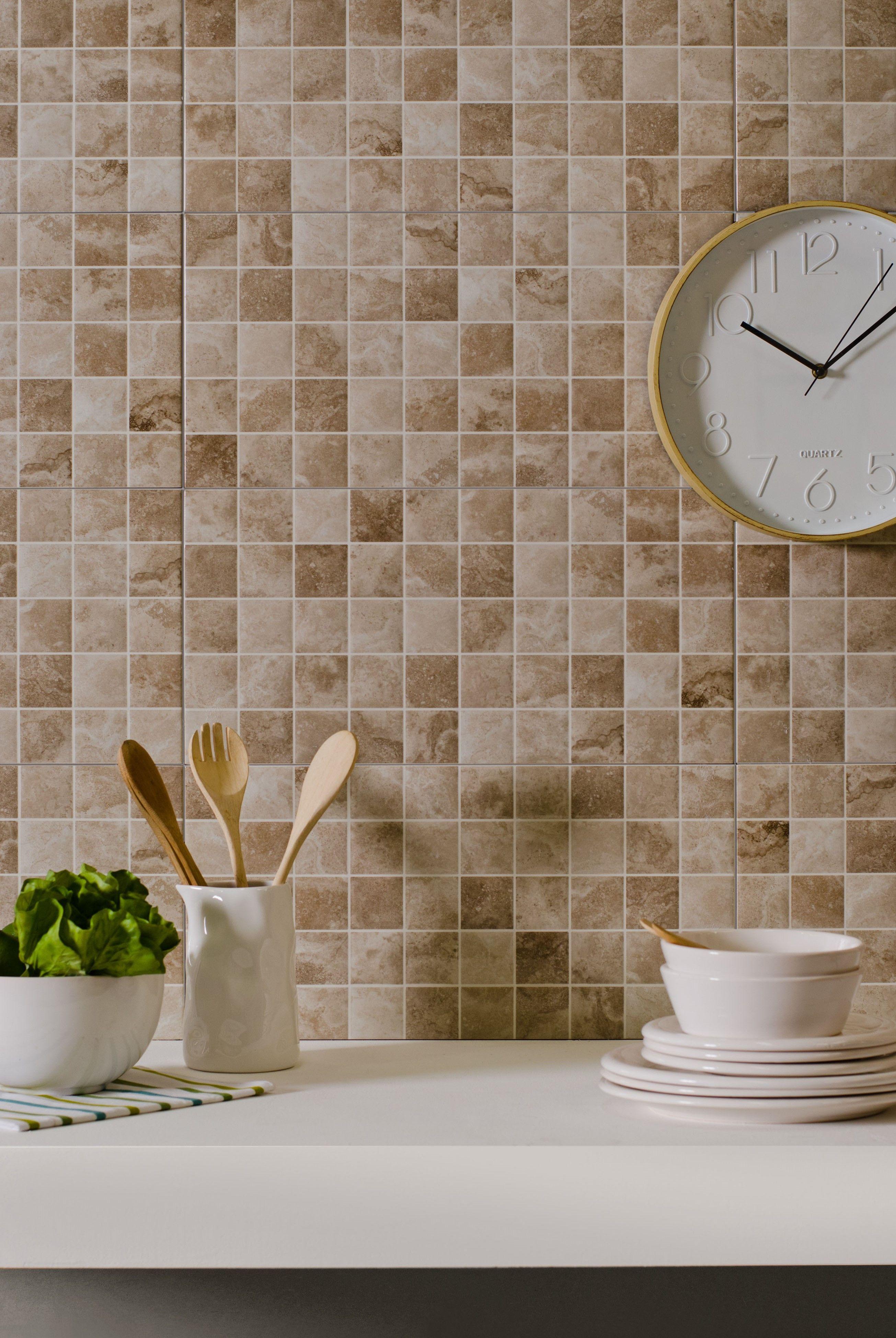 Pared Ceramico Ceramica Revestimiento Cocina Easy
