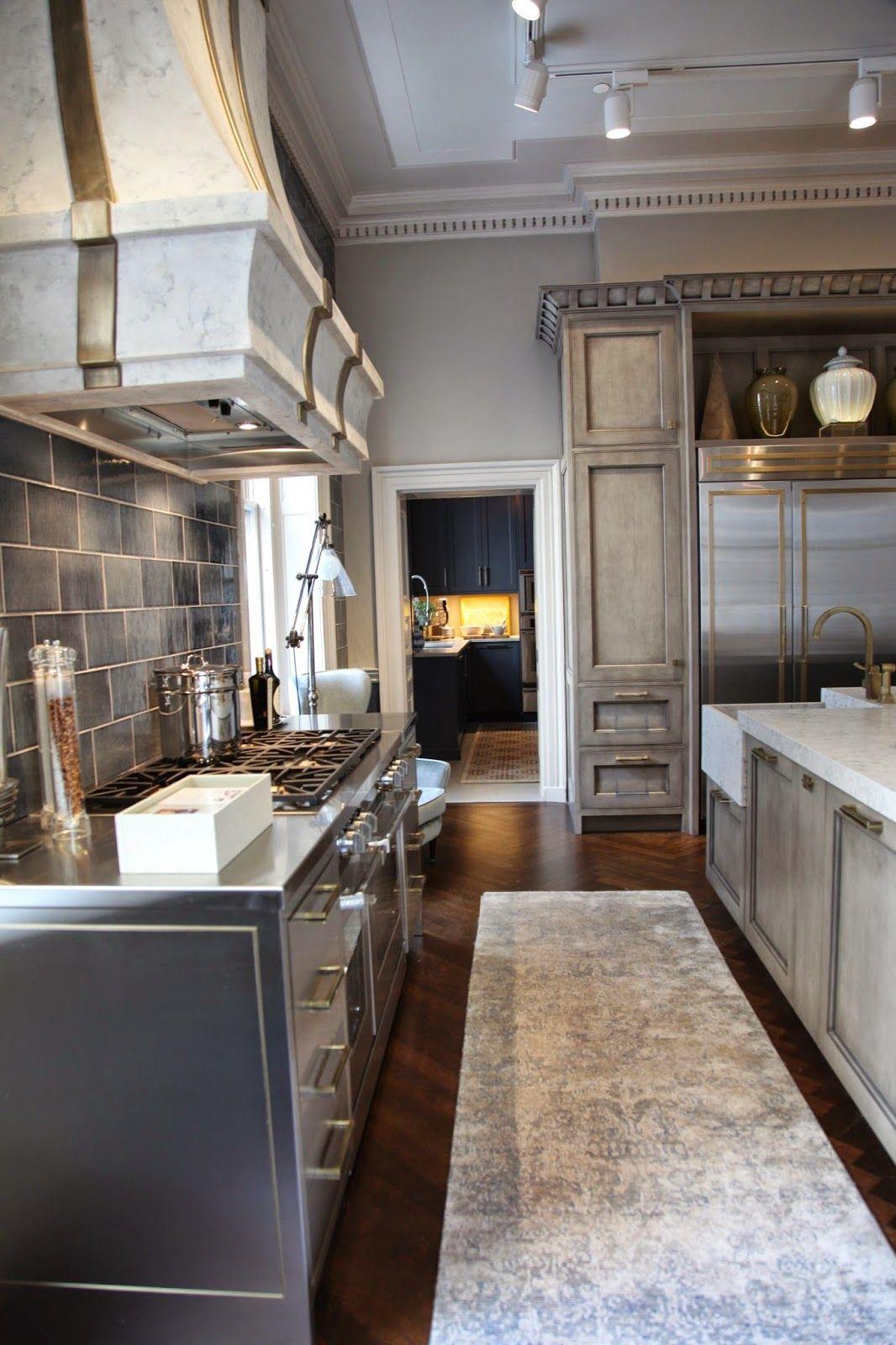 Habitually Chic®: Kips Bay Kitchen http://www.nonnsdesignshowplace ...